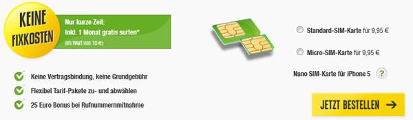 Klarmobil Sim Karte.Die Nano Sim Und Ihre Bestellmoglichkeiten Im Detail